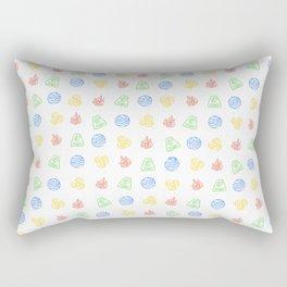 Element Symbols Rectangular Pillow