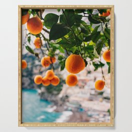 Amalfi Coast Oranges Serving Tray