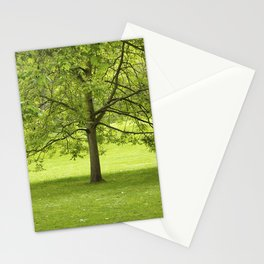 Green Tree Stationery Cards