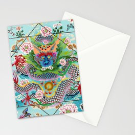Love DRAGON Stationery Cards