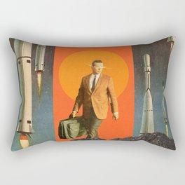 The Departure Rectangular Pillow