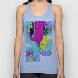 Daydreaming in ChromaCity Unisex Tank Top