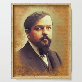 Claude Debussy, Music Legend Serving Tray