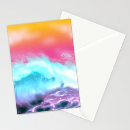 Something In the Wave Stationery Cards