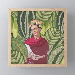 Wild Frida Kahlo Framed Mini Art Print