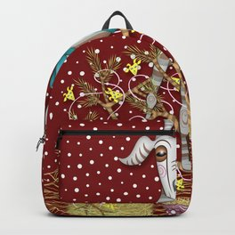 I Come Beh-eh-eh-eh-rring Gifts Backpack