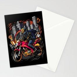 City Rider Stationery Cards