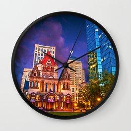 Trinity Church, Boston, MA Wall Clock