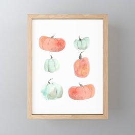 Pumpkins Framed Mini Art Print
