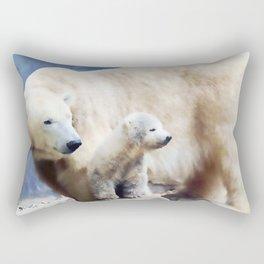 Polar Family Rectangular Pillow