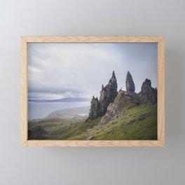 The Old Man of Storr isle of skye Framed Mini Art Print