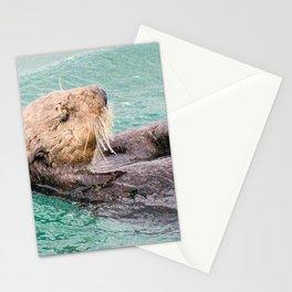 Belly Rub Digital Art Stationery Cards