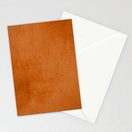 Orange rustic Stationery Cards
