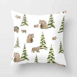 Can't Bear It Throw Pillow