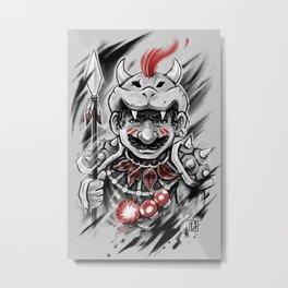 Wild M Metal Print