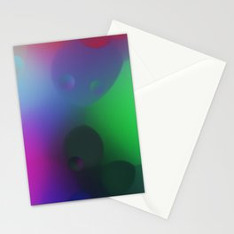 misc fantasy color drops C Stationery Cards