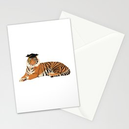 Graduation Tiger Stationery Cards