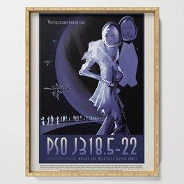 NASA / Visions of the future / PSO Serving Tray