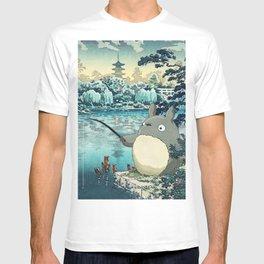 Japanese woodblock mashup T-shirt
