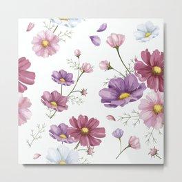 Nice and beautiful floral pattern  Metal Print