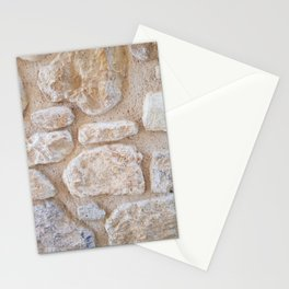Ancient Minoan Stone Wall Stationery Cards