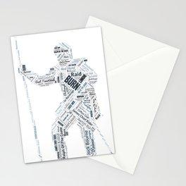 Burn Reiver Art Stationery Cards