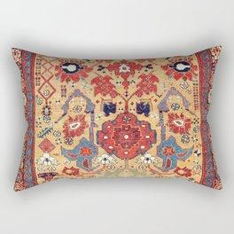 Sauj Bulag Azerbaijan Northwest Persian Rug Print Rectangular Pillow