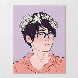 YOI Flower Boys - Yuuri Canvas Print