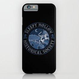 Sleepy Hollow Historical Society iPhone Case