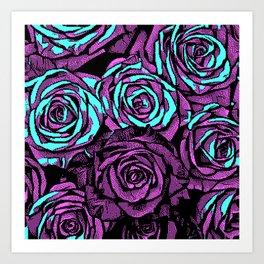 Roses | 8 BIT Art Print