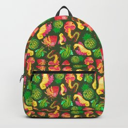 Fruit Fish Frenzy Jungle Backpack