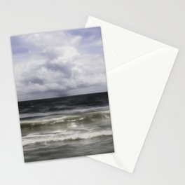 Rain on the Sea Stationery Cards