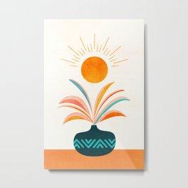 Sunny Tropics Metal Print