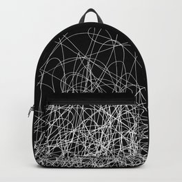 Continuous Line / Black Backpack