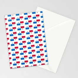 flag of panama 2 -Panama,Panamanian,canal,spanish,San Miguelito,Tocumen,latine,central america,panam Stationery Cards