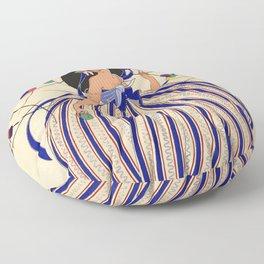 "Martha Romme Couture Design ""Fructidor"" Floor Pillow"