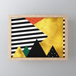 Fall abstraction #2 Framed Mini Art Print