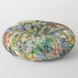 Pierre-Auguste Renoir - Le Beal - Digital Remastered Edition Floor Pillow