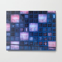 Time to rest our heads in our luxury suites Metal Print