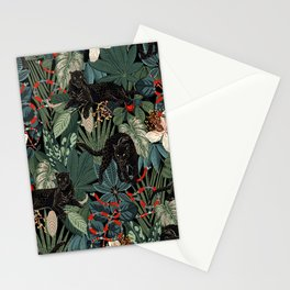Tropical Black Panther Stationery Cards