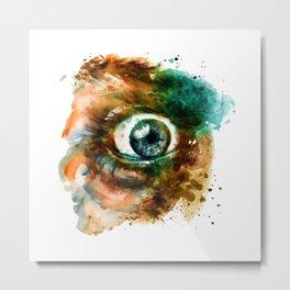 Fear Eye Metal Print