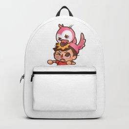 AlbertsStuff Flamingo Backpack