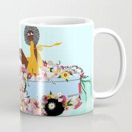 Car full of flowers Coffee Mug