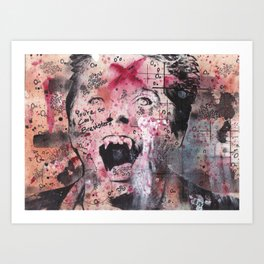 Deleted Scene 002 Fright Night Art Print