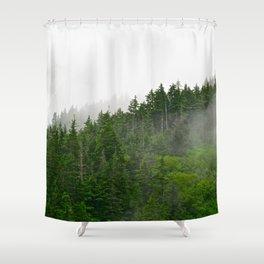Misty Fjords  Shower Curtain