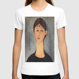 Amedeo Modigliani - Portrait Of Mme Zborowska - Digital Remastered Edition T-shirt