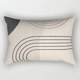 Minimal Geometric 133 Rectangular Pillow