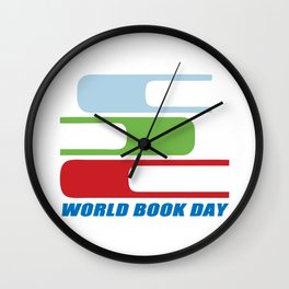 book day Wall Clock