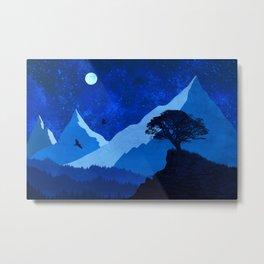 A beautiful moonlight Metal Print