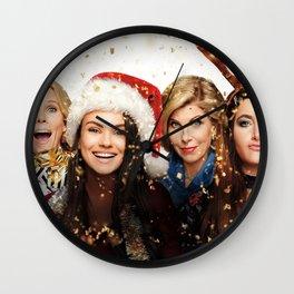 Movie A Bad Moms Christmas Kristen Bell Christine  Wall Clock